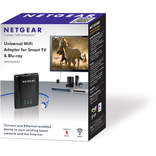 WNCE2001 Universal WiFi InternetAdapter For TV and Blu-ray