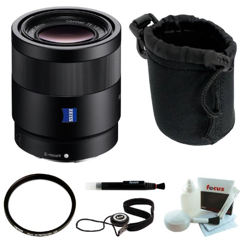 Sony SEL55F18Z Sonnar T* FE 55mm f/1.8 ZA Lens Value Kit