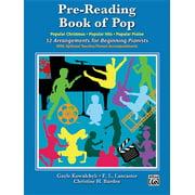 Pre-Reading Book of Pop: 32 Arrangements for Beginning Pianists (Paperback)