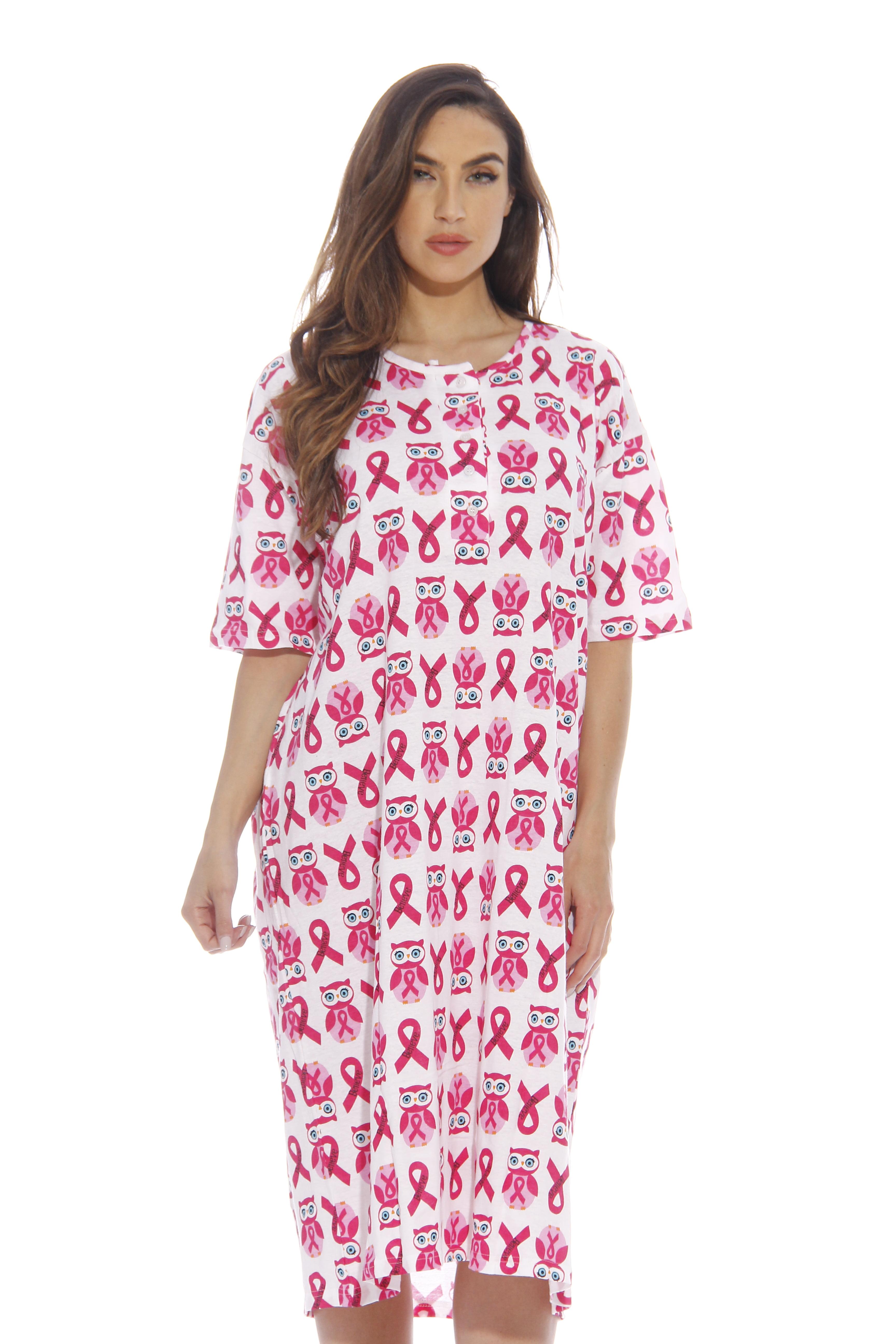 Dreamcrest Short Sleeve Nightgown / Sleep Dress for Women ...