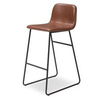 MoDRN Industrial Dax Bar Stool, Multiple Colors