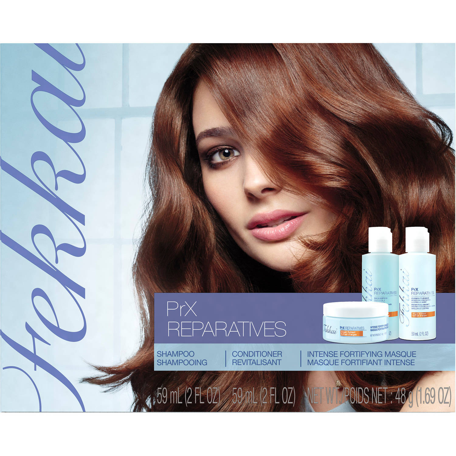 Fekkai PrX Reparatives Starter Kit 3 Piece Kit Includes: 2 oz Shampoo + 2 oz Conditioner + 1.69 oz Intense Fortifying Masque