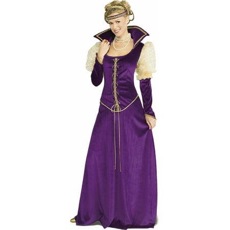 Adult Renaissance Lady Dress Rubies 16850