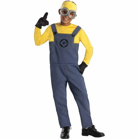 Despicable Me 2 Dave Child Halloween Costume (Despicable Me Lucy Halloween Costume)