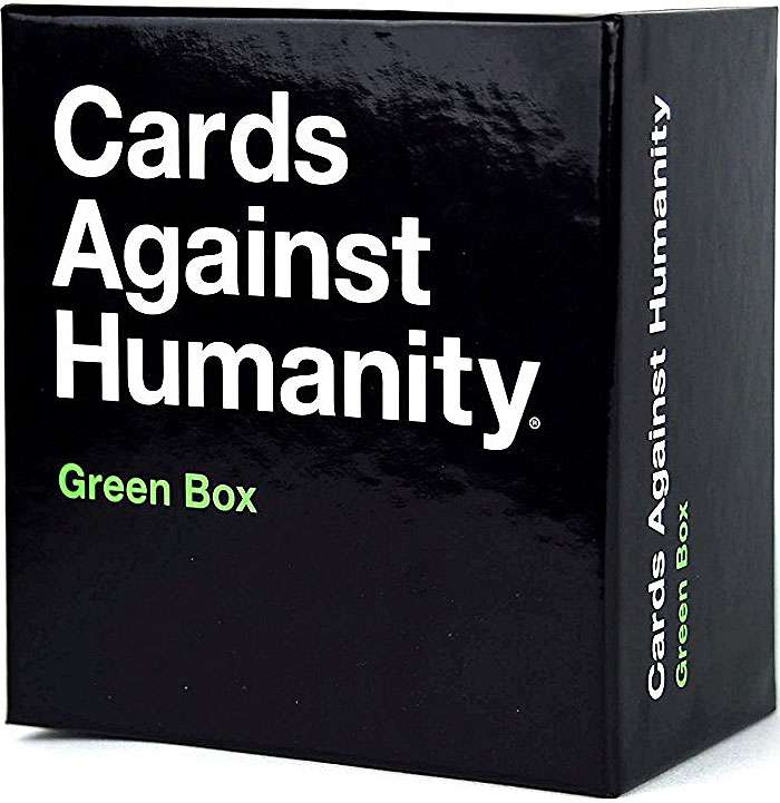 Image of: Blank Cards Brit Co Cards Against Humanity Green Box Walmartcom