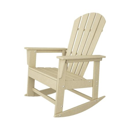 Polywood South Beach Recycled Plastic Adirondack Rocking Chair