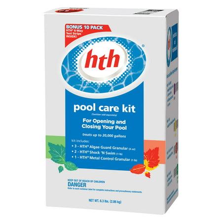 Hth Pool Care Kit Walmart Com