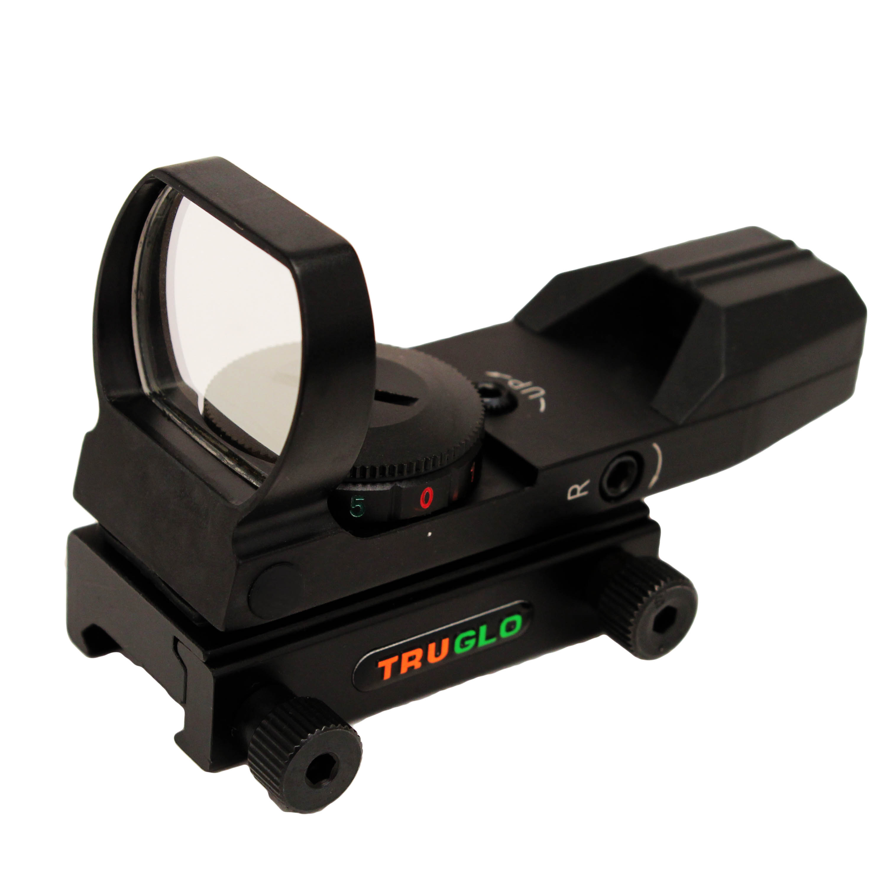 Truglo Dual Color Open Red-Dot Sight, Black