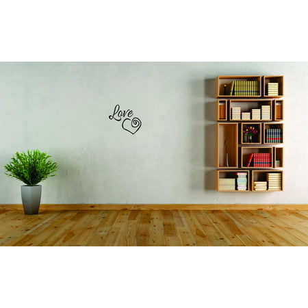 Custom Wall Decal Sticker Love Inspirational Life Quote Living Room Be