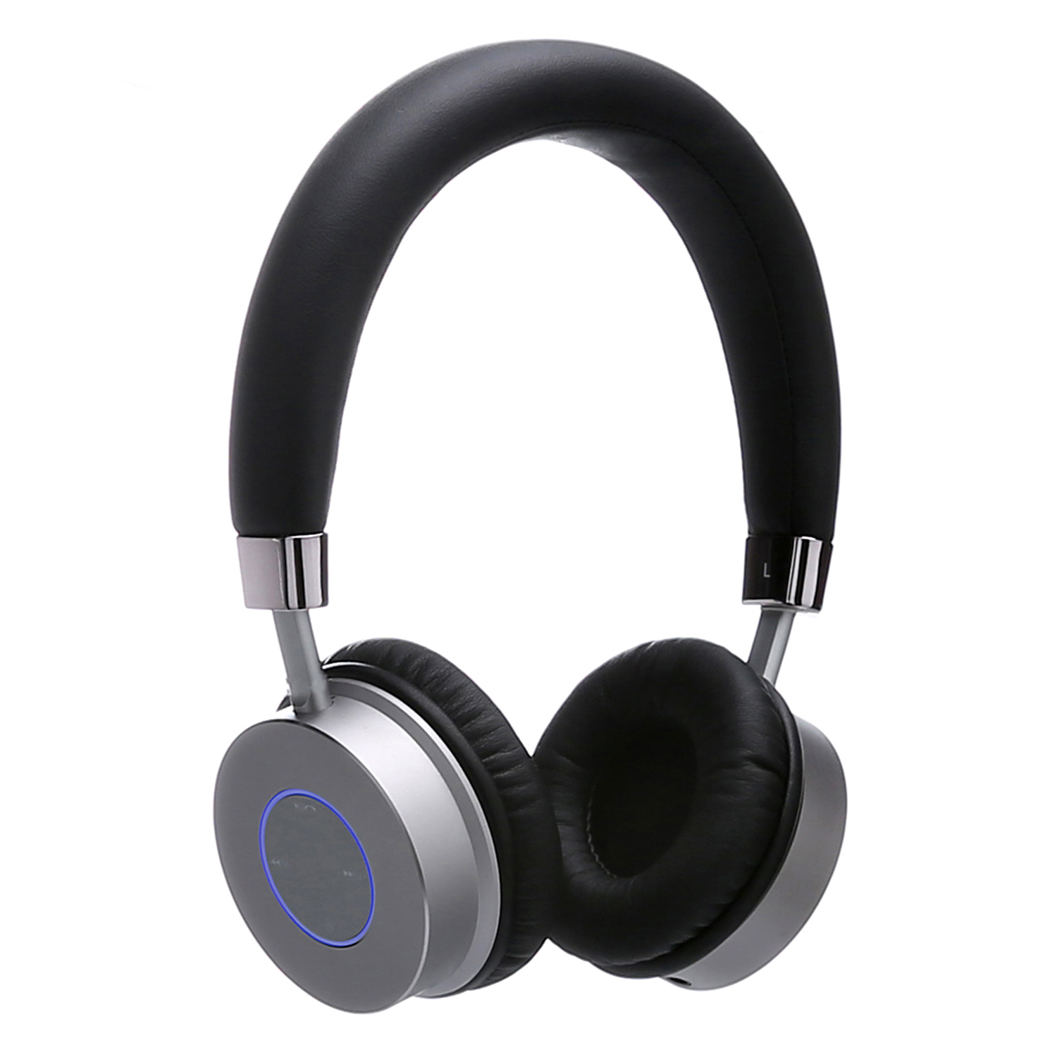 Contixo Premium Kids Headphones With Volume Limit Controls (Max 85dB), Bluetooth Wireless Headphones Over-The-Ear With Comfortable Cushioning (Black)