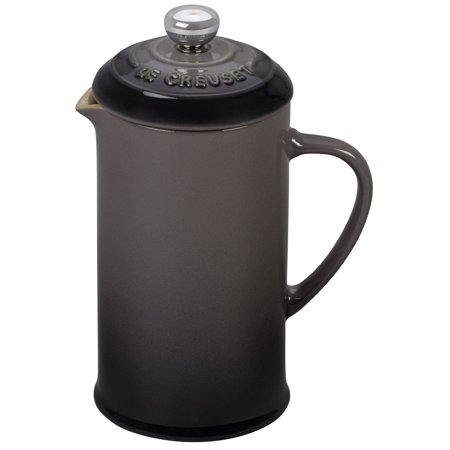 Le Creuset of America Stoneware Petite French Press 12 oz Oyster