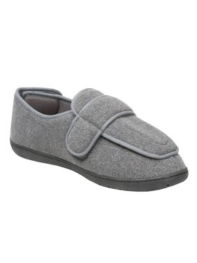 edfd0a856a053d Product Image Men s Foamtreads Extra-Depth Wool Slippers - For Sensitive  Swollen Feet - Gray