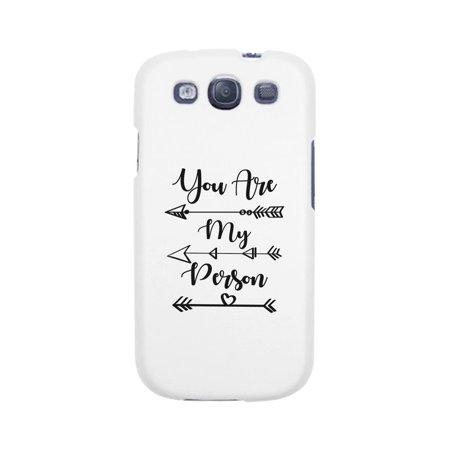 You My Person-Right White Cute Matching Phone Case For Galaxy (My Galaxy S3 Wont Turn On Or Charge)