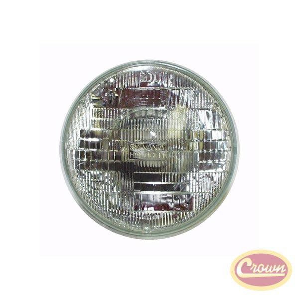 Headlamp Sealed Beam, Blue - Crown# 154905AA