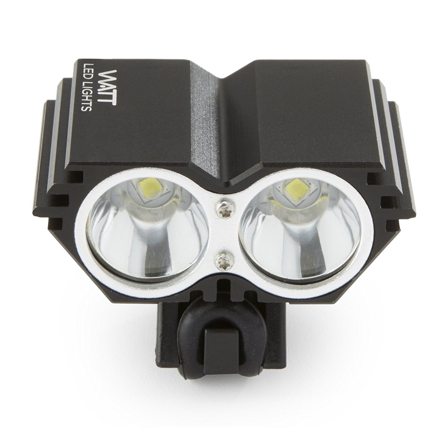 WATT Rechargeable LED Bike Light - 1100 Lumens Bicycle Headlight - for Cycling Safety