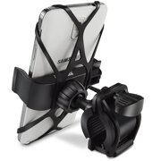 Bike Mount, Ipow Universal Cell Phone Bicycle Handlebar & Motorcycle Holder Cradle for iPhone 6 6(+) 6S 6S plus 5S 5C... by IPOW