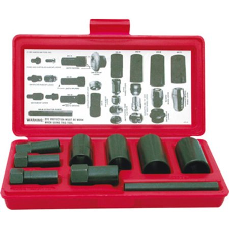 Hubcap Removal Tool - STEELMAN 75032 9-Piece Hubcap and Wheel Lock Removal Kit