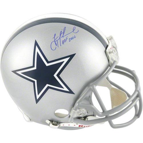 NFL - Troy Aikman Autographed Pro-Line Helmet | Details: Dallas Cowboys, Authentic Riddell Helmet, HOF 2006 Inscription