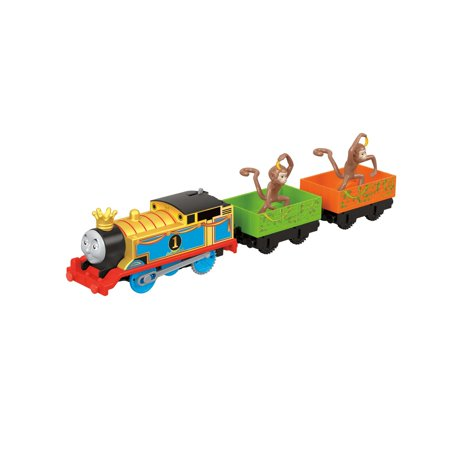 Thomas & Friends TrackMaster Motorized Monkey Mania Thomas Cargo
