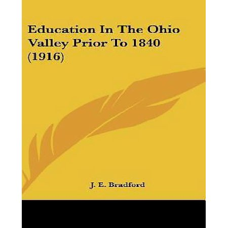 Education In The Ohio Valley Prior To 1840 (1916) - image 1 of 1