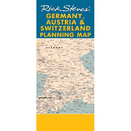 - Rick steves germany, austria & switzerland planning map : including berlin, munich, salzburg & vienn: 9781598800524