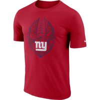 9aac70046 Product Image Nike Men s New York Giants Icon Performance Red T-Shirt