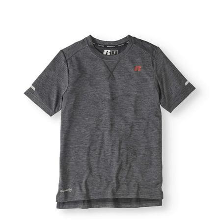 Boys' Short Sleeve Solid Performance T-Shirt