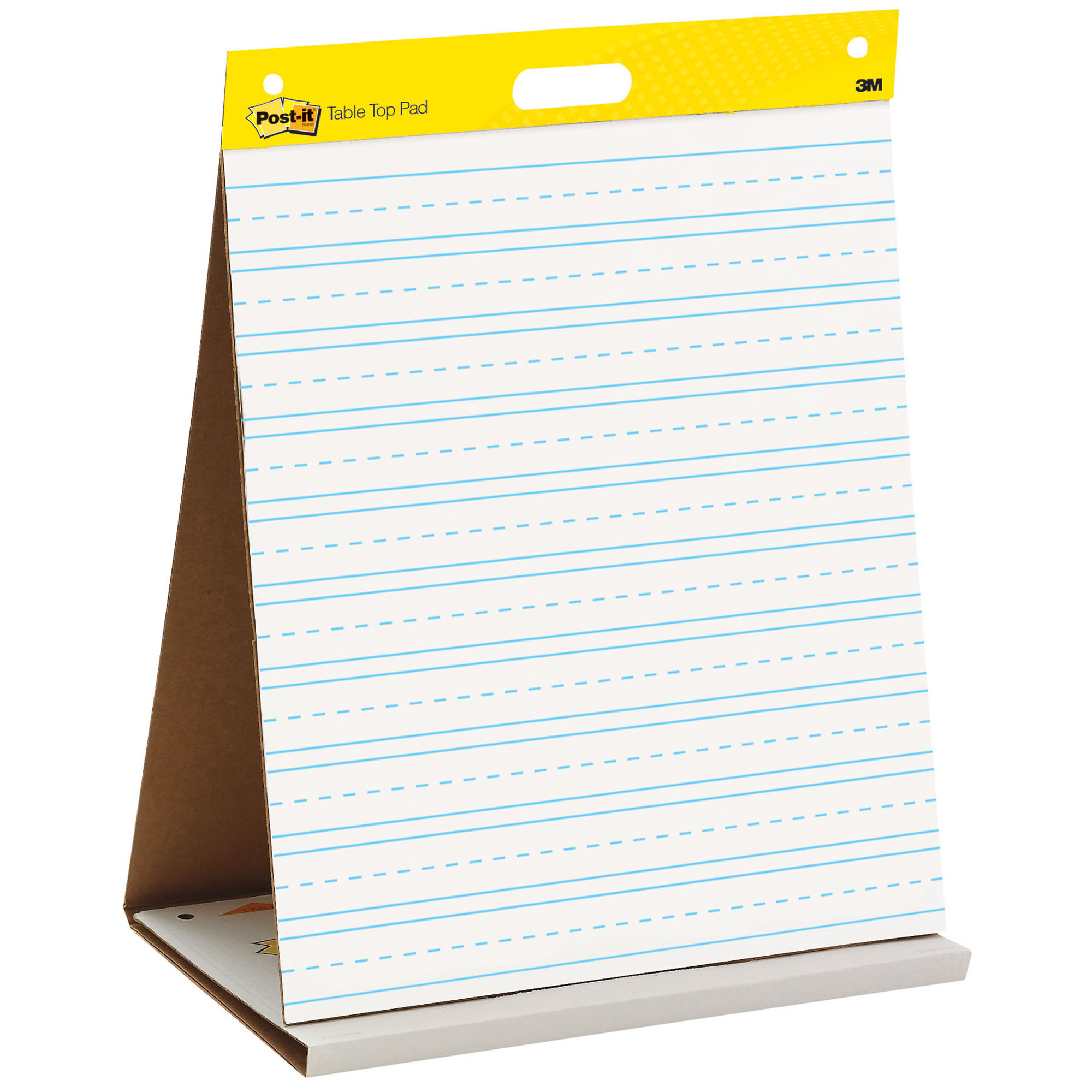 "Post-it® Tabletop Easel Pad, 20"" x 23"", Primary Lined"