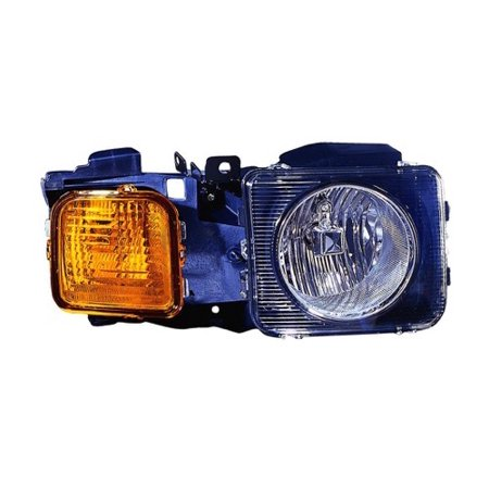 Go-Parts OE Replacement for 2006 - 2010 Hummer H3 Front Headlight Assembly Housing / Lens / Cover - Right (Passenger) Side 15951164 HU2503100 Replacement For Hummer H3 ()
