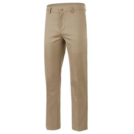- Greg Norman Light Mens 40x32 Dress Flat Front Pants