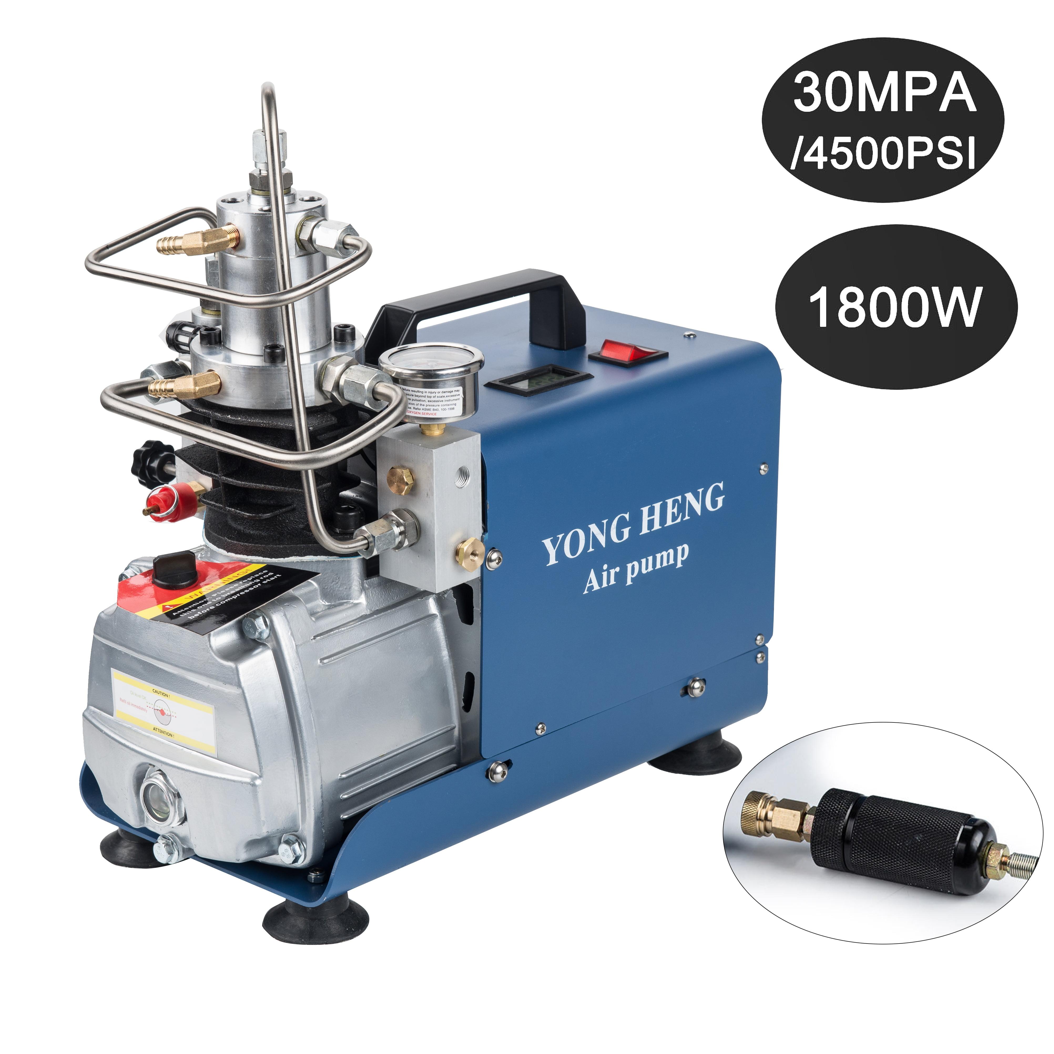 Portable High Pressure Air Pump Air Compressor Water Cooling 2800r//min 4500PSI PCP Airgun Scuba Air Pump 1800W Jintaihua 30MPA Pressure Air Compressor Air Pump