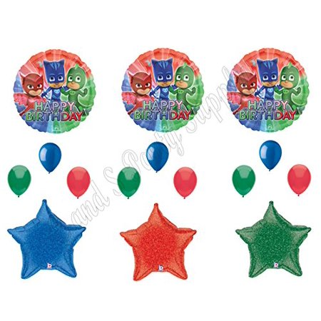 PJ MASKS Disney Superheroes Birthday Party Balloons Decoration Supplies