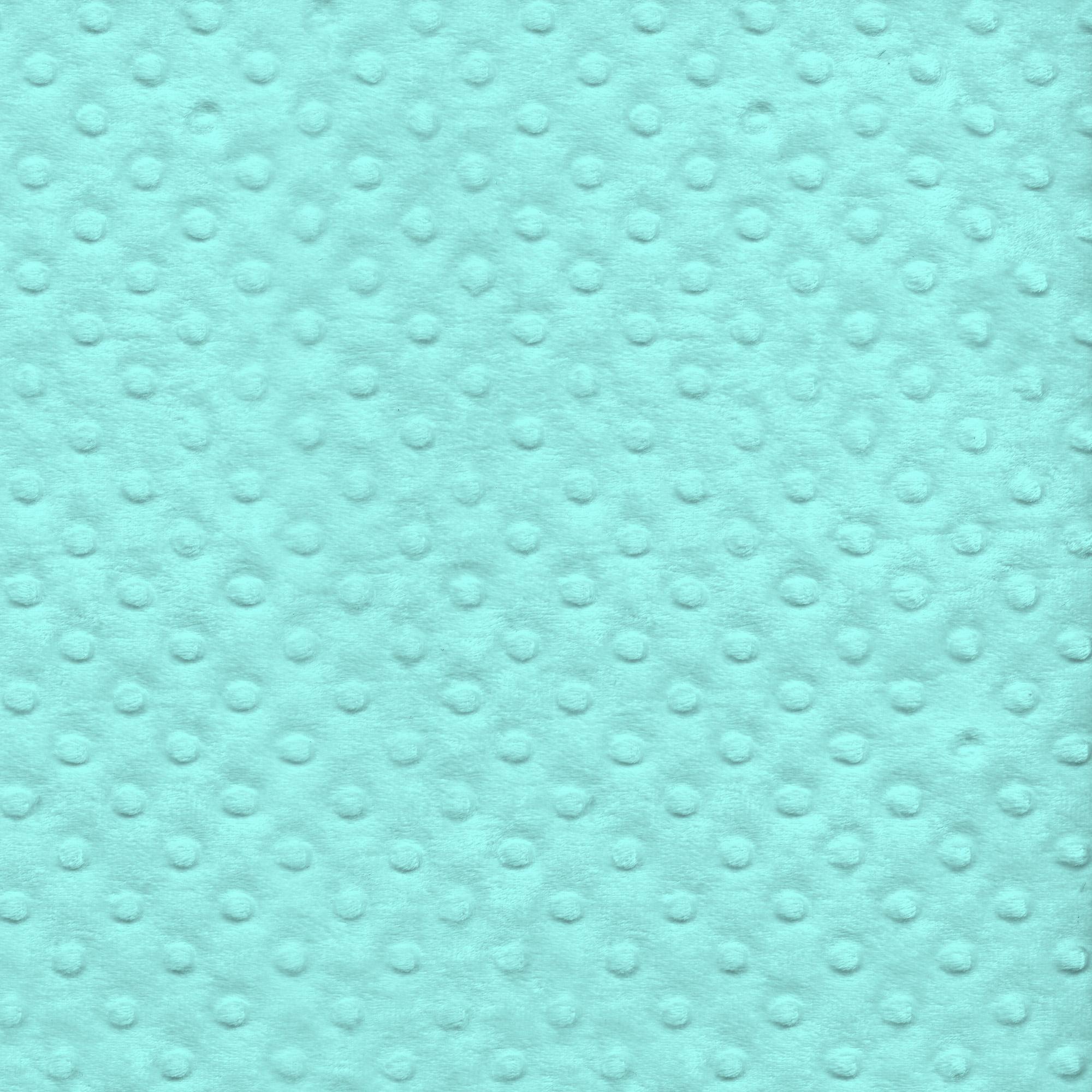 "David Textiles Polyester Fleece Plush 36"" x 60"" Dot Fabric, per Yard"