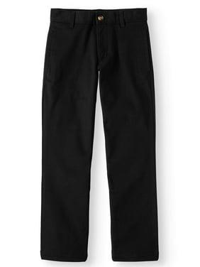 Wonder Nation Boys 4-18 Regular, Slim, & Husky School Uniform Twill Chino Pants
