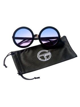 6253eb196a Product Image Gravity Shades Retro Oversized Round Sunglasses