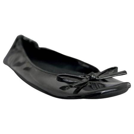 Dawgs Women's Bendable Ballet - Girls Black Ballet Flats