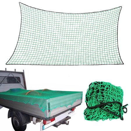 Durable Car Cargo Net Storage Luggage Mesh Truck Trailer Netting Cover 4 Sizes Color: GreenBlack - image 3 de 6