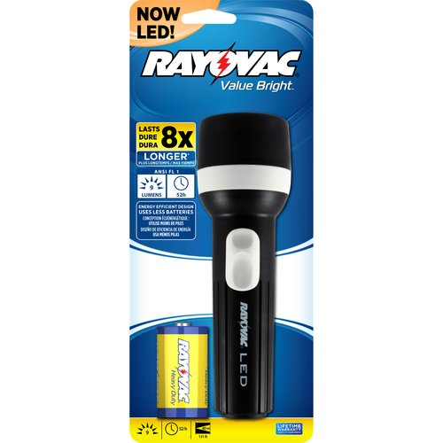 Rayovac Value Bright 1D LED Flashlight