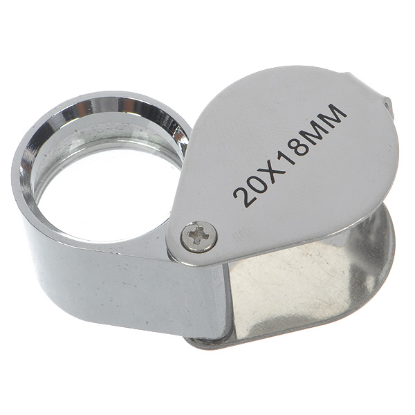 20x18mm Jewelers Loupe / Magnifier Exquisite effect,easy to carry