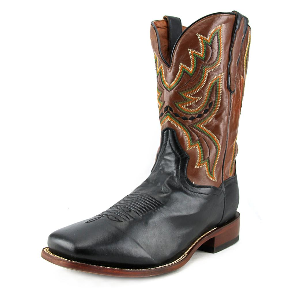 Dan Post Ezra EW Square Toe Leather Western Boot by Dan Post