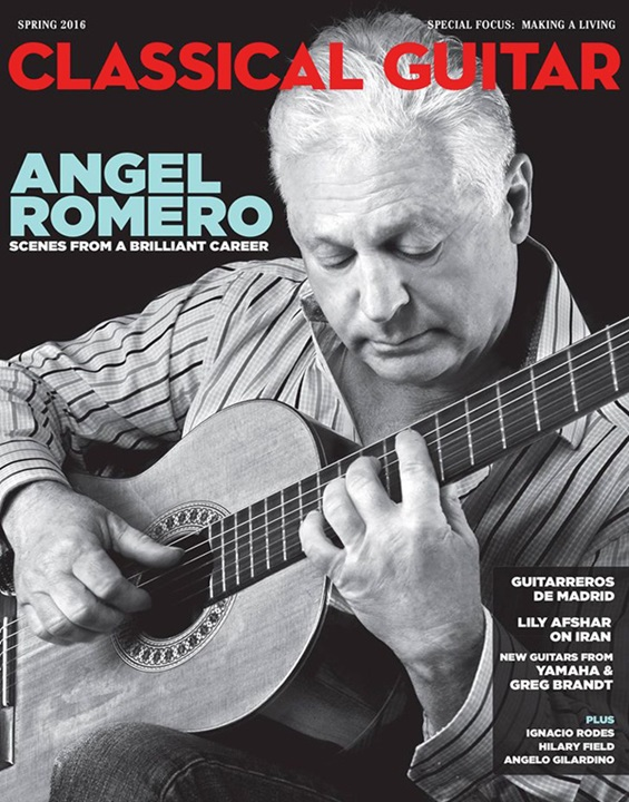 Classical Guitar Magazine Subscription (1 year) by
