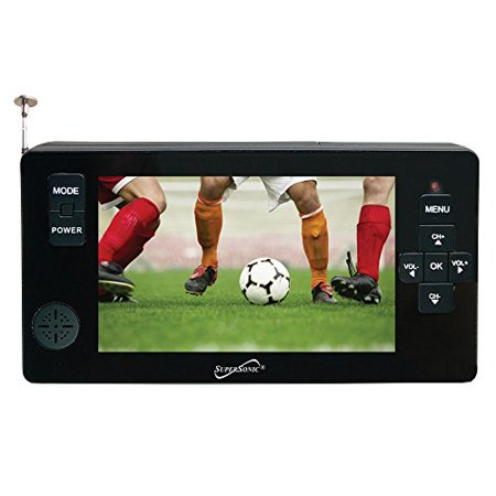 Super Sonic Supersonic 4.3 Portable Digital TV With USB & Micro SD Inputs