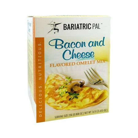 - Bariatricpal Hot Protein Breakfast - Bacon and Cheese Omelet