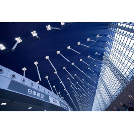 Sweeping Suspended Roof and Glass Windows Pudong International Airport Shanghai China Canvas Art - Paul Souders  DanitaDelimont (36 x 25) 13 Sonneman Suspended Glass
