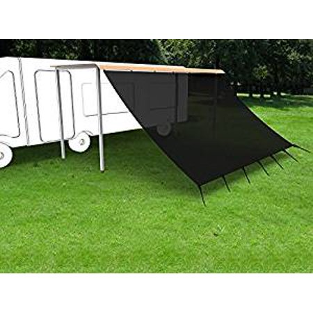 Shatex RV Awning Shade with 90% Privacy Screen Free Kit 8 ...