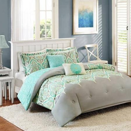 Better Homes And Gardens Kashmir Medallions 5 Piece Comforter Set