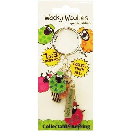 Wacky Woolies Charm Keyring - Wacky Bags