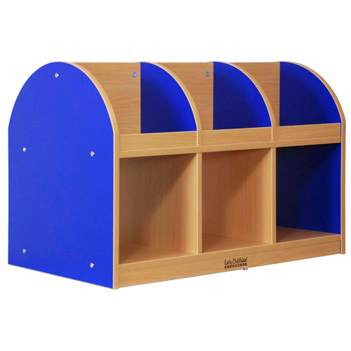 ECR4Kids Colorful Essentials  Double-Sided Toddler Book Stand