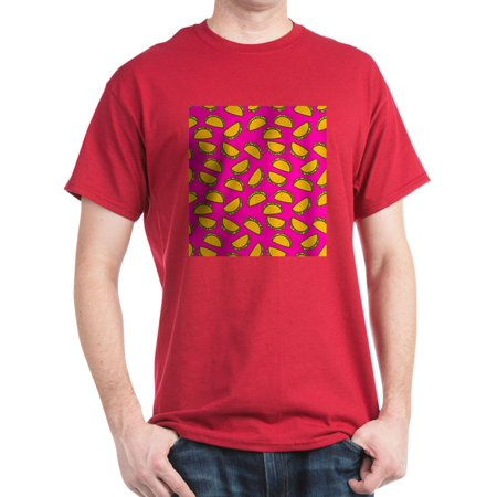 CafePress - Pink Tacos T Shirt - 100% Cotton T-Shirt