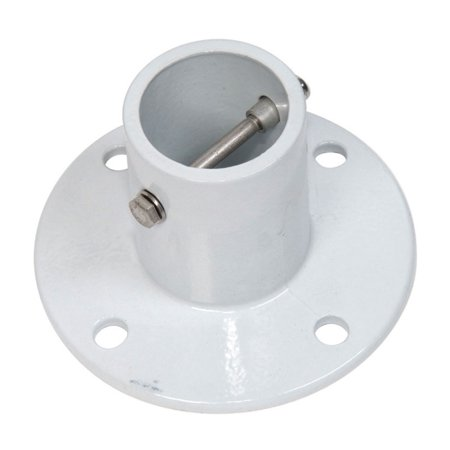 S.R. Smith 75-209-5000 3 Inch Deck Mounted Aluminum Anchor Flange for (Deck Anchor Flange)